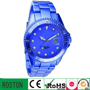 Quartz Movement Water Proof Anolog Advertising Timing Watch