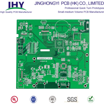 Placage de trous Tg130 Fr4 1.0mm PCB double face