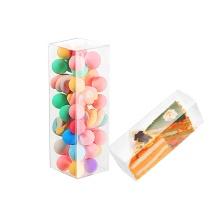 Benutzerdefinierte klare Acetat Halloween Süßigkeiten transparente Box Kunststoff