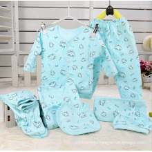 Combed Cotton 7PCS Newborn Baby Clothes