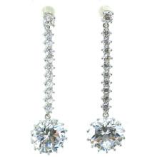 Pendiente de plata de la joyería 925 de la alta calidad y de la manera de la mujer (E6476)