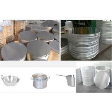 1050/1100/1070/1200 Aluminium-Kreis für Lager Topf