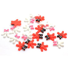 Hot Fashion Resin Mouse Cabochons Les plus populaires Résines Flatback Kitsch Gants Craft Mouse Gants Cabs Slime Perles