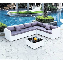 Hot Sell Outdoor Möbel Wicker / Rattan Garten Sofa