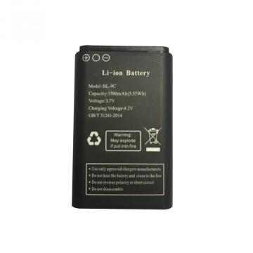 Перезаряжаемый сменный литий-ионный аккумулятор BL 9C 3,7 В 1500 мАч