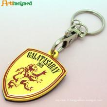 Porte-clés gravés personnalisés avec logo personnalisé