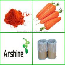 Zanahoria certificada ISO Beta-caroteno en polvo Precio