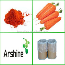 ISO Certificated Carrot Beta-carotene powder Price