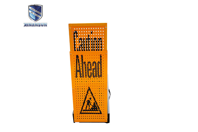 extend portable traffic police equipments warning board