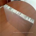 Painéis de revestimento de metal Painéis de favo de mel de alumínio