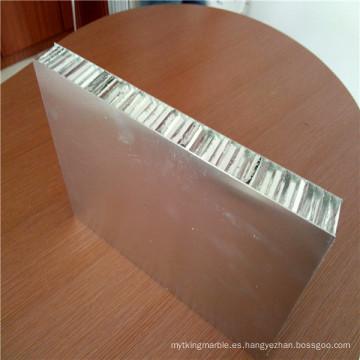 Paneles de revestimiento de pared de metal Paneles de panal de aluminio