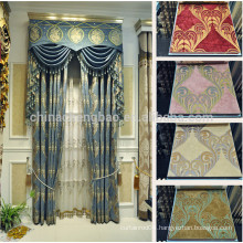 Latest designs of chinese style window curtains in luxury
