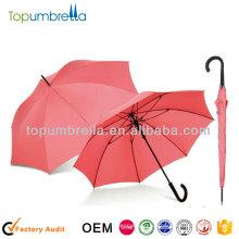 """23 """"8rib solid color Regenschirm soliden Stock Regenschirm"""