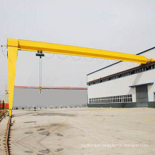 Semi Gantry Crane with Lifting Hoist