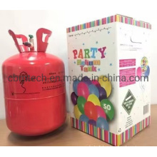 Hot Sale Disposable Inflate Steel Helium Tank Balloons Helium Gas Cylinder with Helium Gas