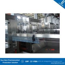 Máquina de enchimento automática de garrafas líquidas em volumetria com Siemens Control