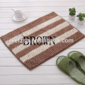 microfibre polyester amovible couleur changeante tapis de bain tapis en caoutchouc