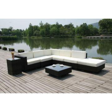 Fabricant de meubles de jardin en rotin à résine classique Patio imperméable