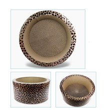 Professional for Best Bowl Model Cattery Scratching Board,Bowl Shaped Cat Scratcher Gift,Kitty Bowl Cat Scratcher,Round Scratcher Manufacturer in China Round cat Scratching Bed supply to Australia Manufacturers