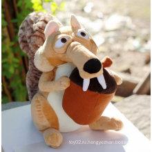 Симпатичные плюшевые игрушки с двумя большими зубами