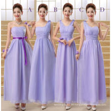 New arrival free shipping real sample sleevelesss bridesmaid dress