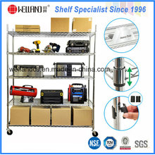Adjustable Warehouse Factory Storage Racks, Strengthened Depot Wire Rack