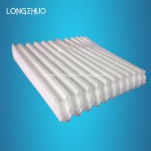 Placa de láminas blancas PP para tratamiento de aguas residuales