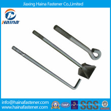 GB799 China suppiler parafuso de fundação de alta resistência HDG