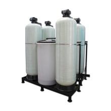 Amaciador automático de água com válvula dupla