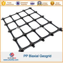 Plastic Biaxial Geogrid for Soil Stabilization