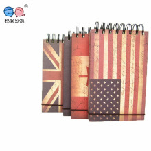 2016 New Type Banner Cover Design 42k Spiral Hard Cover Noetbook (BX0102)