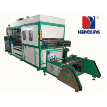 Automatic plastic products forming making machine