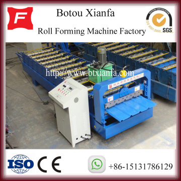 IBR Trapesium Roof Genteng Roll Forming Steel Machine