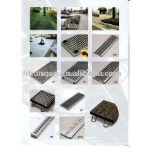 Grille de vidange de tranchées, couvercle de drainage, trench, couverture de ravitaillement, système de drainage
