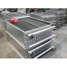 Trocador de calor de ar com tubo de amido para forno de madeira
