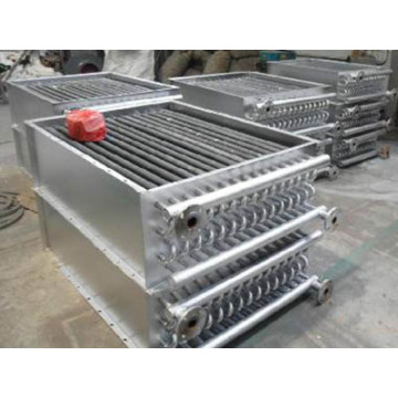 Finned Tube Air Heat Exchanger for Wood Kiln