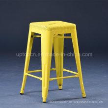 Высота 45см желтый Перфорированный стул tolix стула сек (СП-MC073)