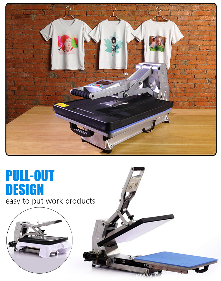 China freesub dye sublimation printing heat press machine for T shirt printing machine suppliers