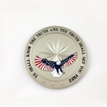 Promotion Plated Gold Cheap Custom Challenge Metal Coin For Sale