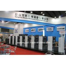 Etiquetas offset impresión máquina de troquelado rotativo