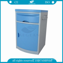 AG-BC005 CE ISO cheap price ABS storage bedroom bedside hospital patient cabinet