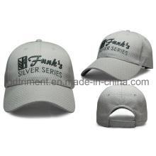 100% полиэстер Построенная вышивка Бейсбольная кепка спорта вышивки (TRB050)