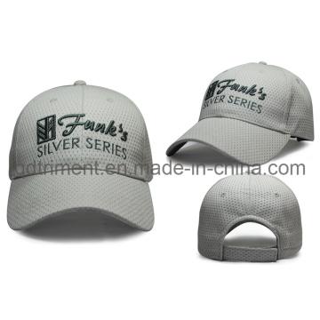 100% polyester brodé à base de sport Baseball Mesh Cap (TRB050)