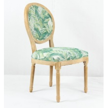 American Style Restaurant Ghost Fabric Dining Chairs