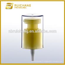 Pompe lotion plastique 20 mm pour bouteille