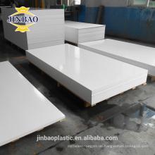 JINBAO 5mm PVC koextrudierte Platten PVC-freie Schaumplattenbehälter