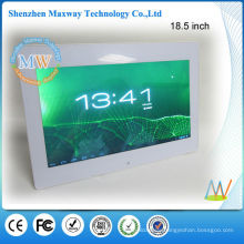 new 18.5 inch android wifi digital photo frame optional with capacitive touch screen