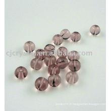 Vente chaude de perles de cristal matière première
