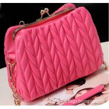New handbag texture fold bubble bag trends in Europe and America shoulder bag messenger bag bolso bolsa sac