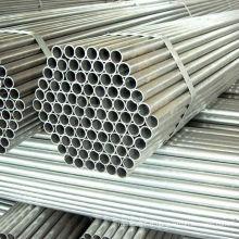 Tuyau d'acier galvanisé par ERW pour la construction de cadre de serre chaude